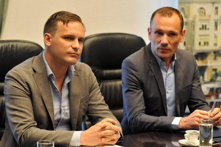Ivan Črnjarić i Vladimir Miholjević/Foto Arhiva NL
