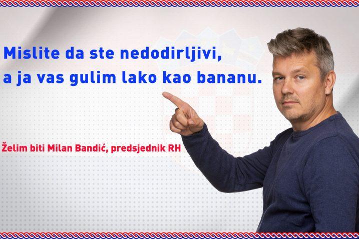 Bavite se kobasičarenjem i spletkarenjem i ostat ćete upamćen kao šibicar - poručio je Dario Juričan gradonačelniku Milanu Bandiću