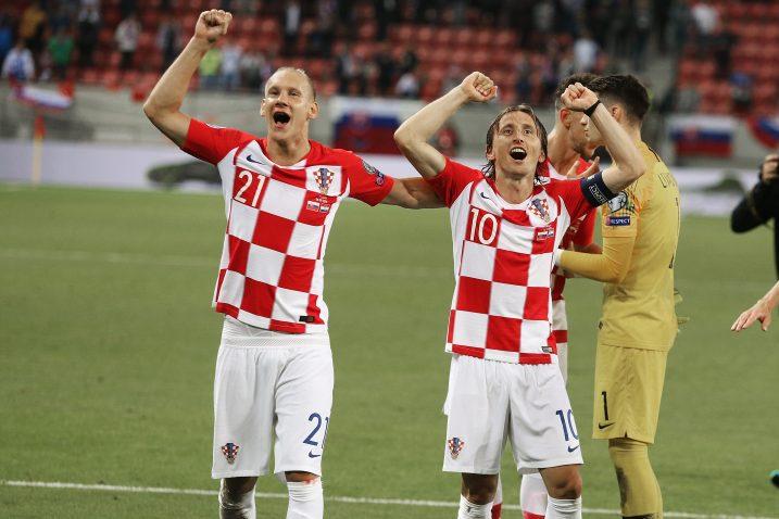 Domagoj Vida i Luka Modrić/Foto PIXSELL
