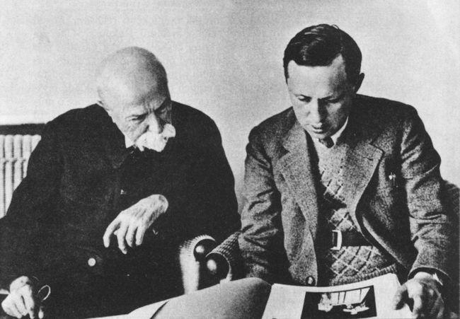 Ilustracija: T. G. Masaryk i Karel Čapek / Wikipedia