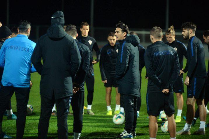 Posljednji trening kockastih na Rujevici uoči večerašnje utakmice/Foto D. ŠKOMRLJ