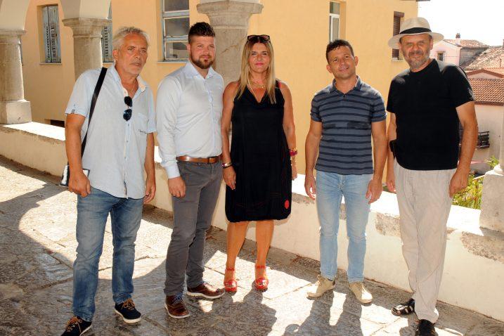 Sanjin Mandičić, Matej Mostarac, Helena Ninković Budimlija, Saša Matovina i Mladen Medak Gaga najavili su festival čakavske šansone 2019.