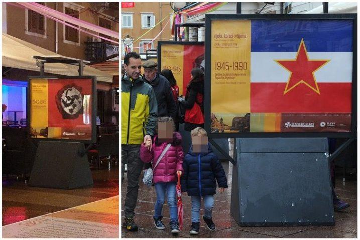Zastava sa svastikom nikoga nije potaknula na prosvjede / Foto D. HERLJEVIĆ / Marko Gracin