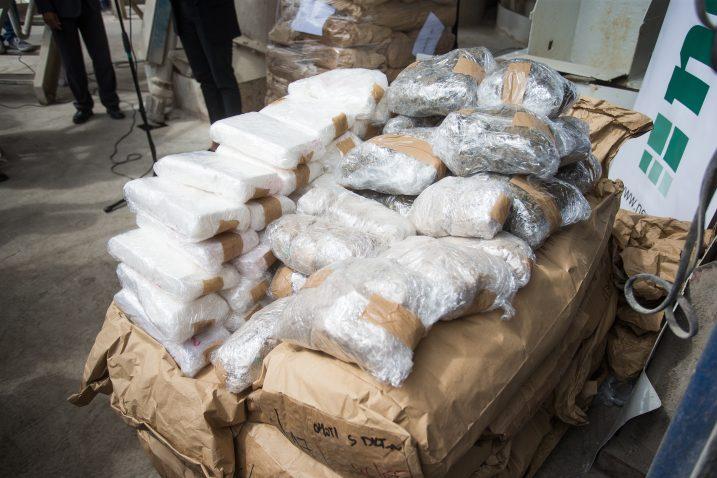 O kolikim se količinama narkotika radi, svjedoči i detalj sa spaljivanja u našičkoj spalionici / Foto Davor JAVOROVIĆ/PIXSELL