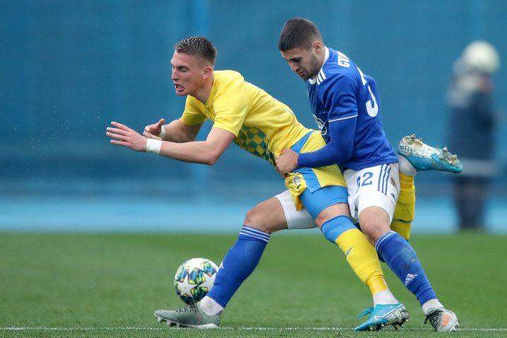 Joško Gvardiol (Dinamo) i Ivan Mamut (Inter)/Foto PIXSELL