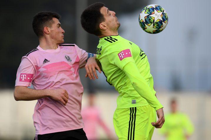 Jon Mersinaj (Lokomotiva) i Komnen Andrić (Dinamo)/Foto PIXSELL