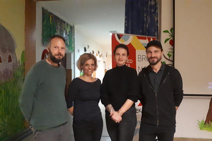Vanja Babić, Željka Modrić Surina, Klara Bukovac i Bojan Mucko / Foto: D. PLEŠE