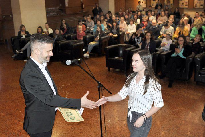 S dodjele priznanja u HKD-u na Sušaku / Snimio Silvano JEŽINA