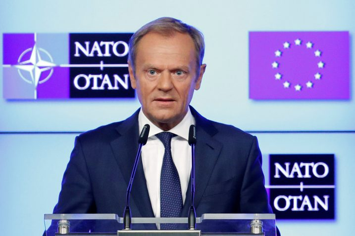 Donald Tusk Foto/REUTERS