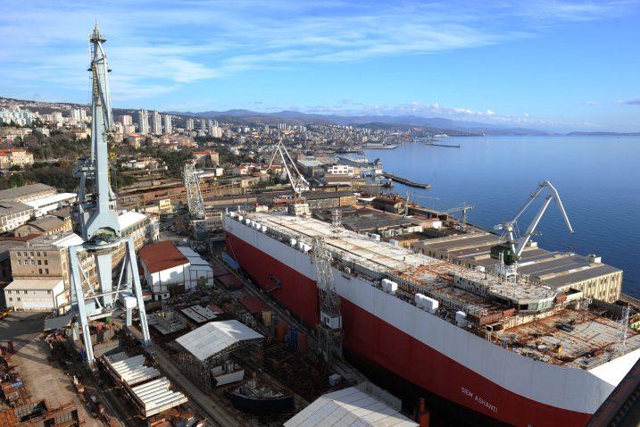 """Brodogradilište """"3. maj"""" je sve bliže osiguranju proizvodnje i pune zaposlenosti za narednih 5 godina / Snimio Marko GRACIN"""