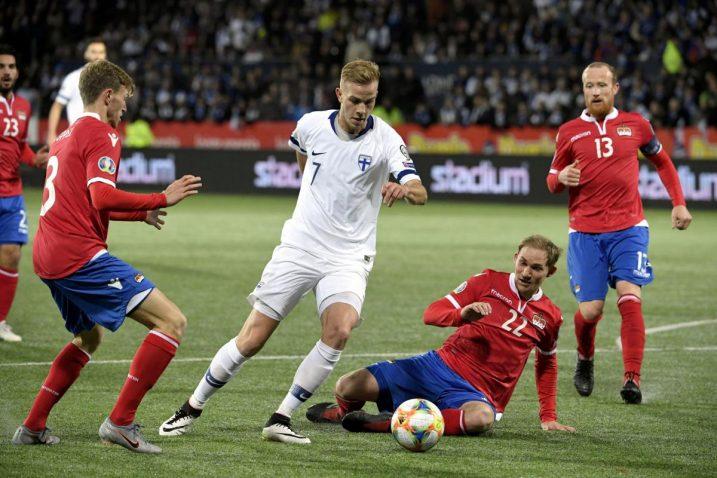 Finci su bili bolji od Lihtenštajna s 3-0/Foto REUTERS