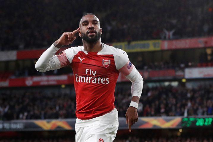 Alexander Lacazette (Arsenal)/Foto REUTERS