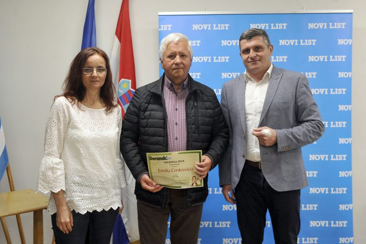 Slavica Bakić, Emil Crnković i Petar Mamula /  Snimio Roni BRMALJ