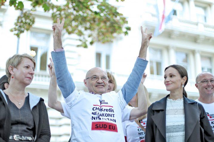 Velika pobjeda Udruge Franak - Goran Aleksić sa svojim timom / Foto SANJIN STRUKIC/PIXSELL