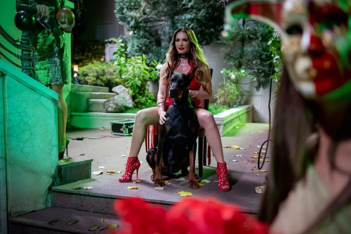 Dominiraju senzualne, zavodljive scene u kojima glavnu ulogu ima atraktivna Tara