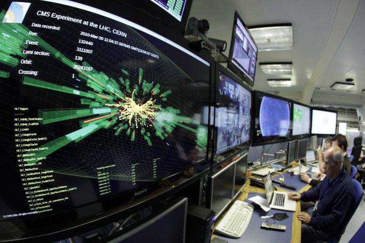 CERN / Reuters