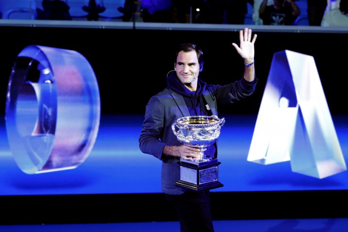 Roger Federer brani naslova osvajača Australian Opena/Foto REUTERS