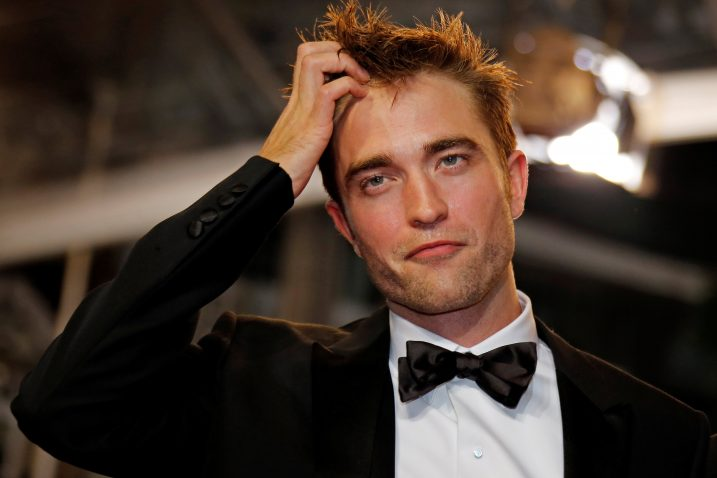FOTO/Robert Pattinson/REUTERS