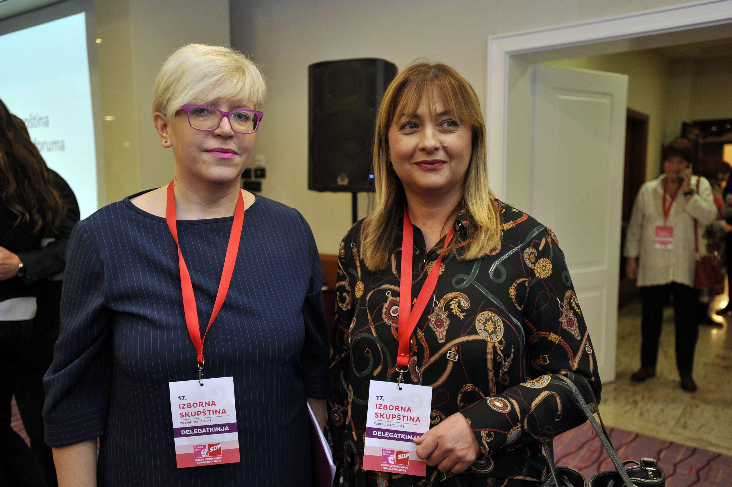 Maja Sporiš i Karolina Leaković / Foto Davor Kovačević