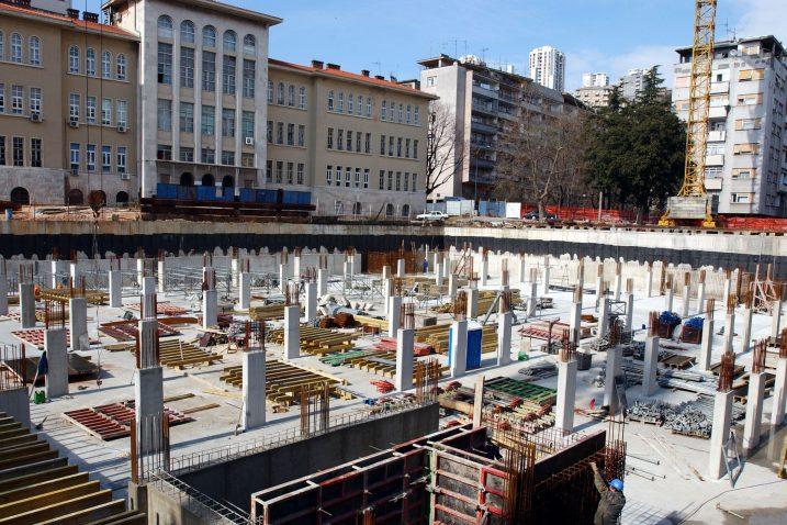 Državna inspektorica tvrdi da se na gradilištu ništa nije događalo / Snimio Ivica TOMIĆ