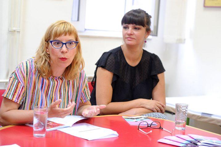 Magdalena Lupi Alvir i  Vedrana Balen Spinčić / Foto Sergej Drechsler