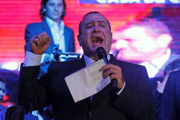 Alejandro Giammattei / REUTERS