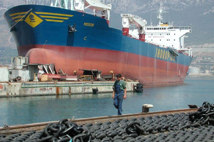 Splitski brodar se priprema za dolazak strateškog partnera Foto/Arhiva NL