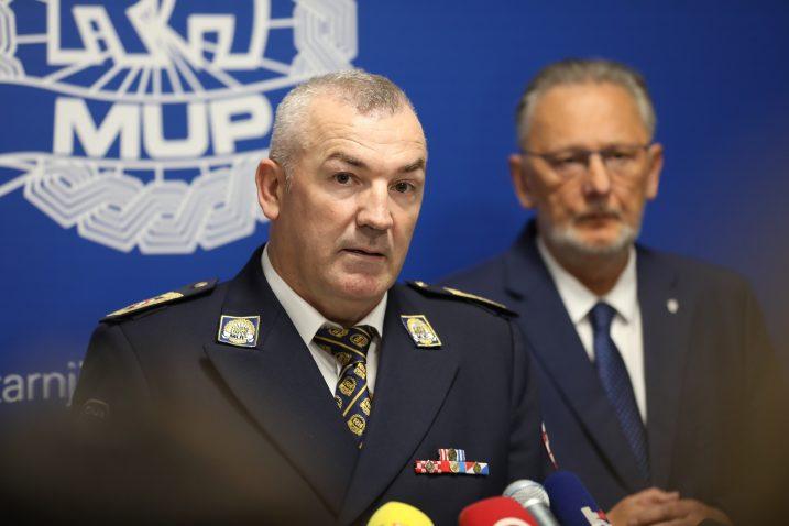 Glavni ravnatelj policije Nikola Milina / Jurica Galoic/PIXSELL