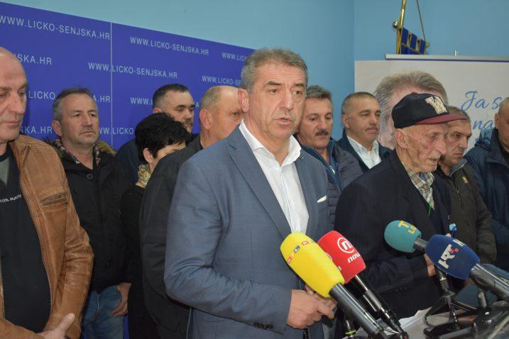 Župan Darko Milinović, nositelj Nezavisne liste,  održao je još jedan redovni radni sastanak sa predsjednicima Mjesnih odbora s područja Grada Gospića
