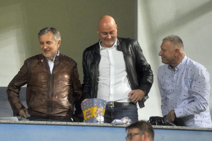 Miroslav Škoro u loži na Kantridi tijekom utakmice s Zrinjskim/R. BRMALJ
