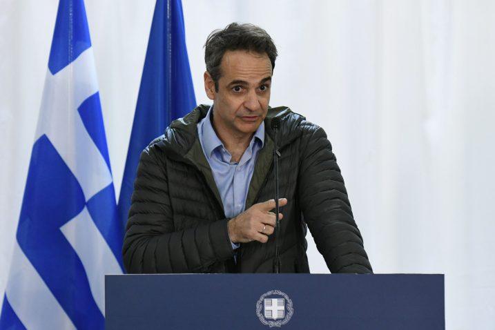 Europu neće ucijeniti ni Turska ni izbjeglice - Kiriakos Micotakis  / Reuters