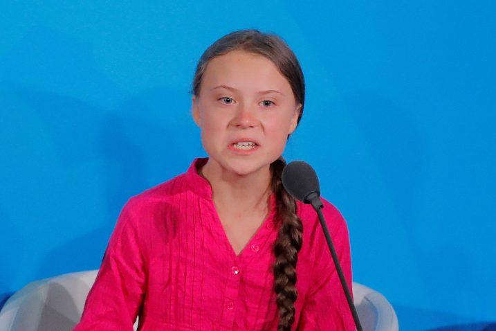 Greta Thunberg / REUTERS
