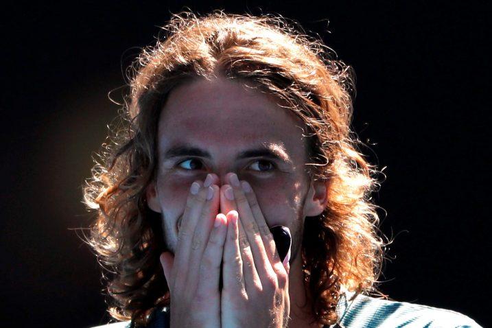 Stefanos Tsitsipas/Foto REUTERS