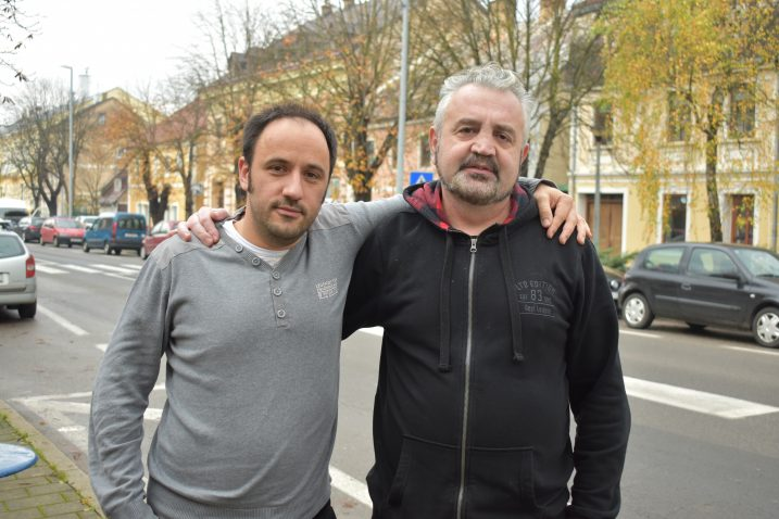 Kreativna suradnja urodila pravim malim remek-djelom - Zvonimir Tonković i Berislav Kostelac / Snimio Marin SMOLČIĆ