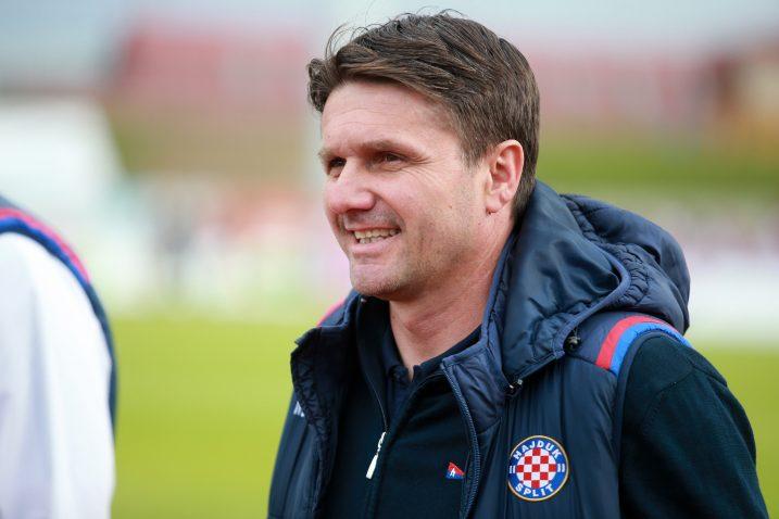Siniša Oreščanin, trener Hajduka/Foto PIXSELL