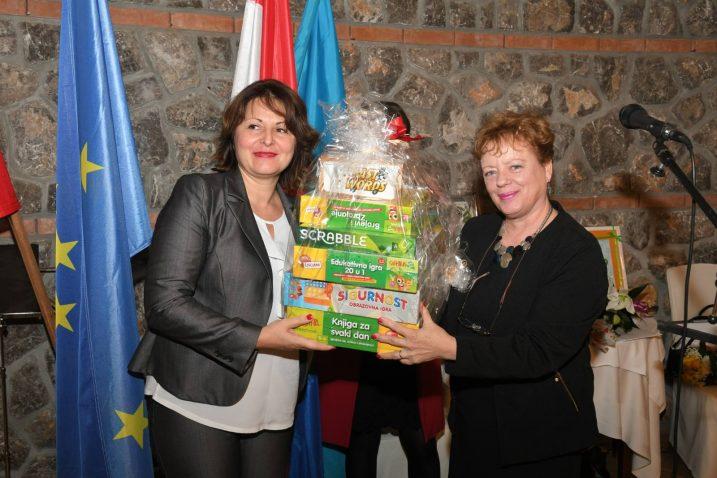 Sanja Udović i Branka Miočić