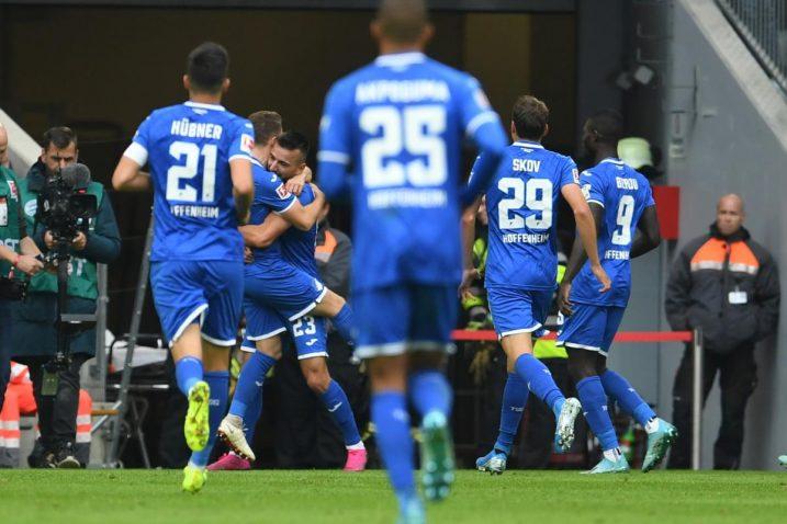 Hoffenheim je s 20 bodova na drugome mjestu lige/Foto REUTERS