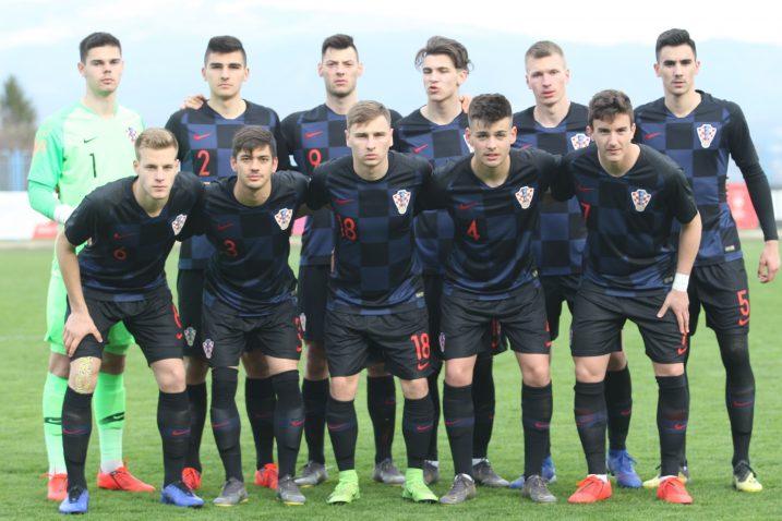 U sastavu U-19 selekcije nalaze se i tri mlada igrača Rijeke/Foto PIXSELL