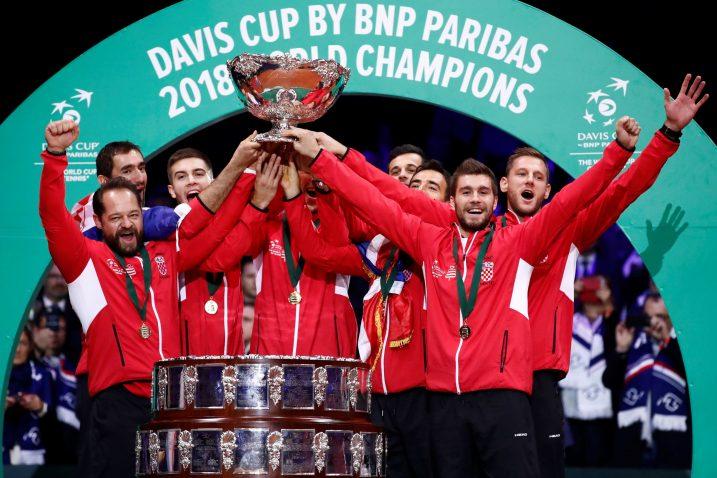 Hrvatski tenisači aktualni su osvajači Davis Cupa/Foto REUTERS