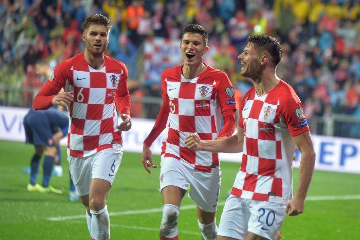 Siniša Čaleta Car, Dino Perić i Bruno Petković/D. ŠKOMRLJ