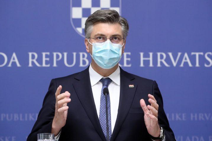 Foto Screenshot Twitter Andrej Plenković