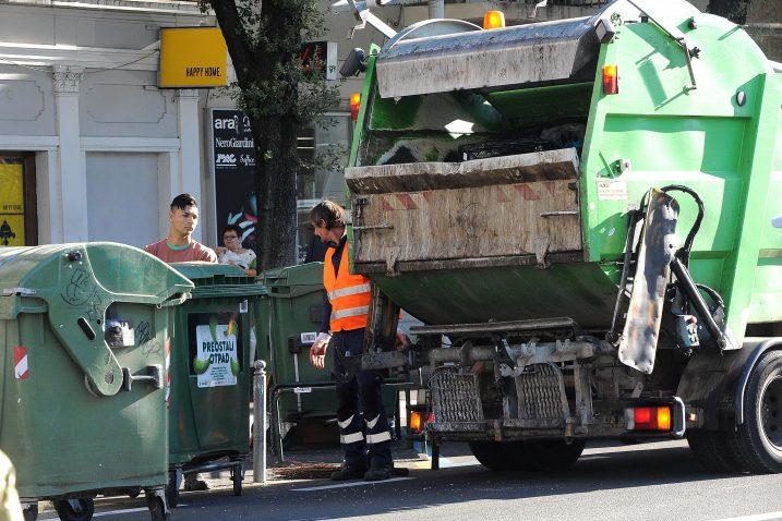 Sakupljanje otpada za reciklažu u Hrvatskoj još uvijek nije učinkovito / Snimio Sergej DRECHSLER