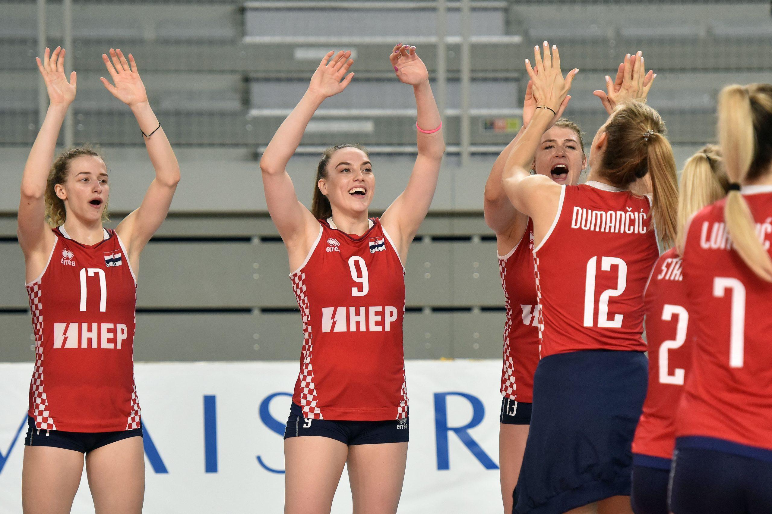 Hrvatske odbojkašice ove nedjelje igraju finale Zlatne europske lige protiv Čehinja/Foto PIXSELL