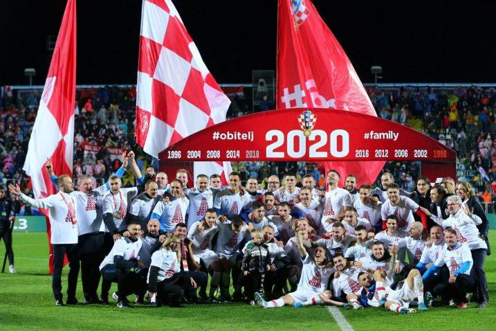 Hrvatska nogometna reprezentacija izborila je plasman na EURO/Foto REUTERS