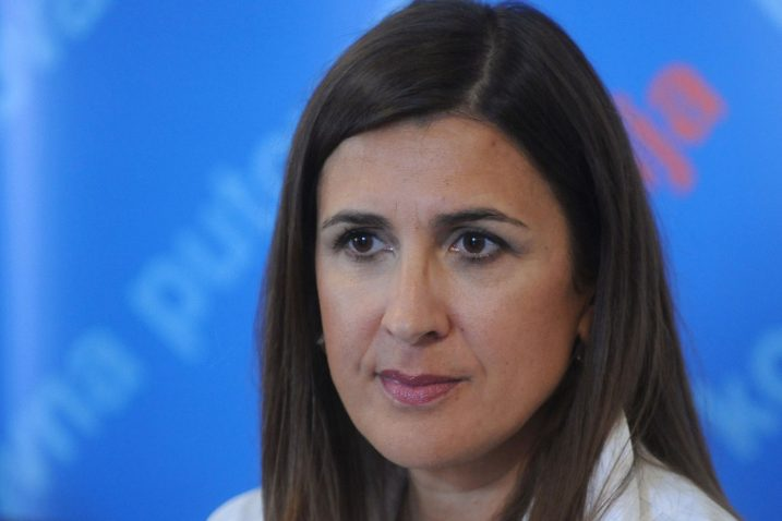 Nikolina Babić, predsjednica HTS-a/Foto Arhiva NL