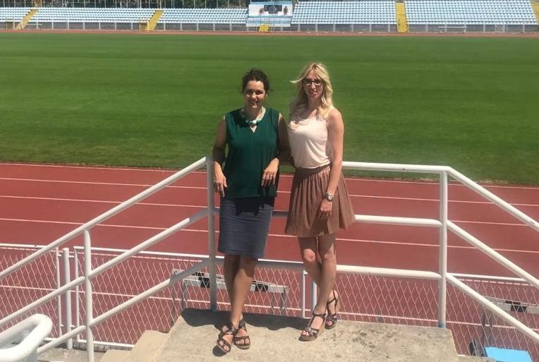 Sandra Grozdanov i Iva Florjančič / Foto Ivana Vaupotić