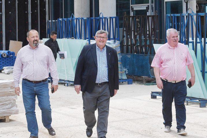 Borjan Brnčić, Vojko Obersnel i Jaroslav Trešnak na Costabelli / NL