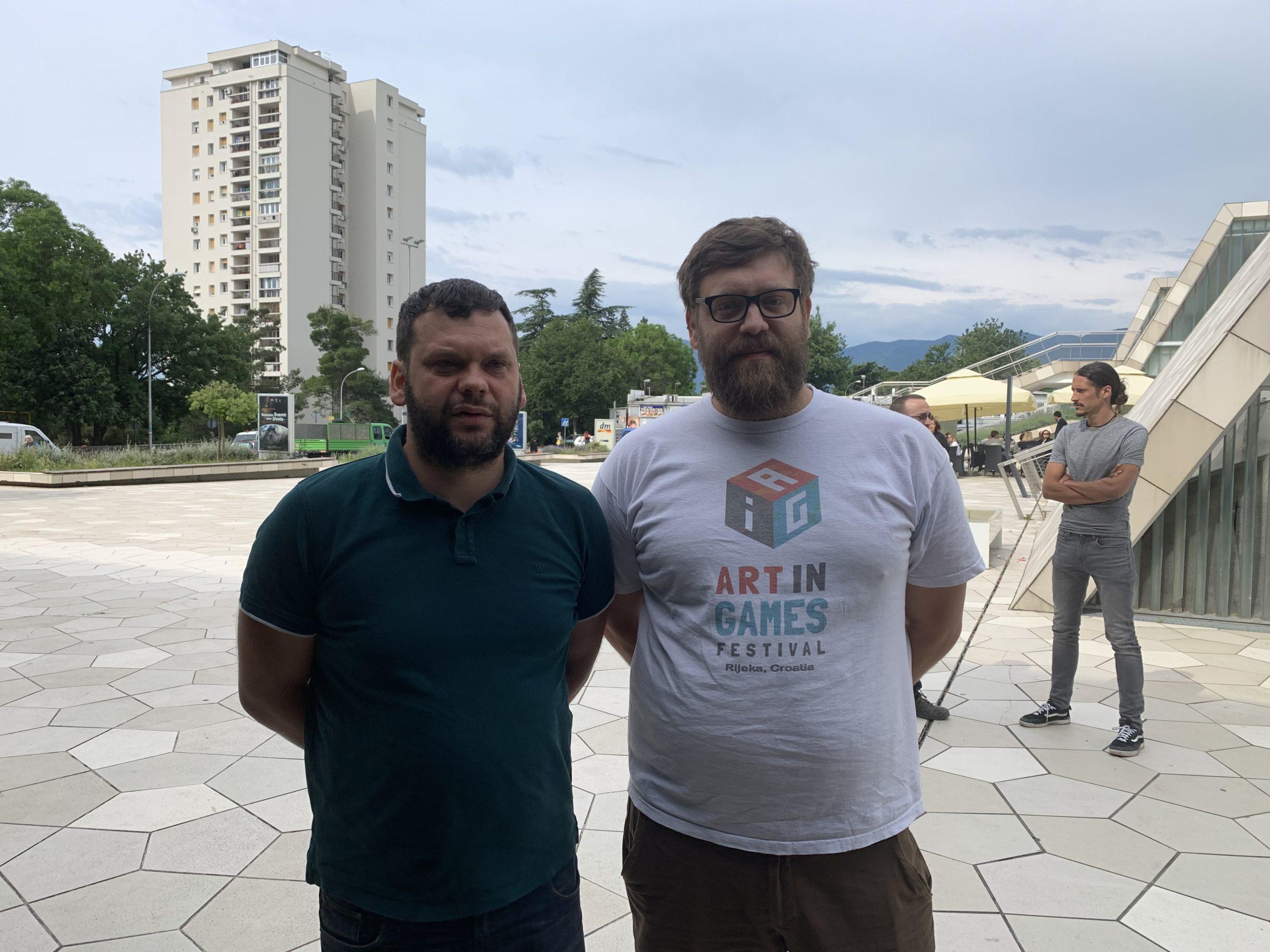 Akcija mladih, Bojan Kurelić i Vedran Vivoda / Foto: B. ČALUŠIĆ