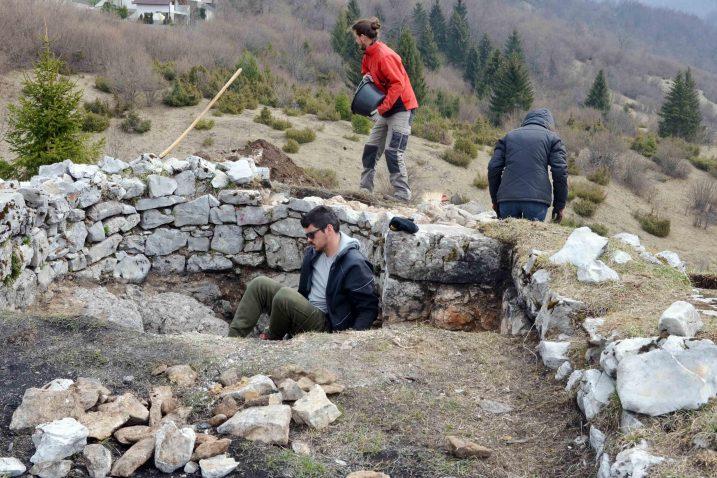 Kad se uredi, lokacija Fortica mogla bi postati zanimljivo odredište za posjetitelje Mrkoplja / Snimio Marinko KRMPOTIĆ