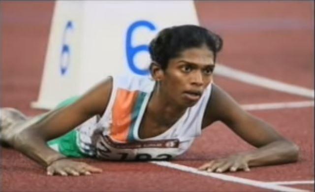 Santhi Soundarajan - indijska interseksualna atletičarka/Screenshot